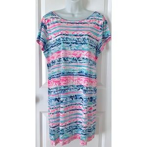 Lilly Pulitzer A Wave From It All Marlowe Dress